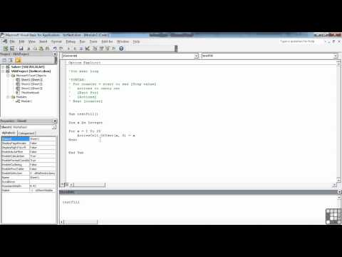 Visual Basic for Excel Tutorial | The FOR Loop | InfiniteSkills