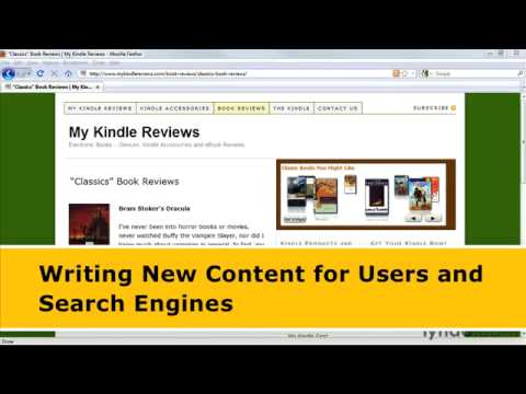 lynda.com Podcast Episode 194: Writing New Content for Users and Search Engines