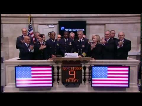 News Wrap: NYSE Observes Moment of Silence Honoring 9/11 Victims