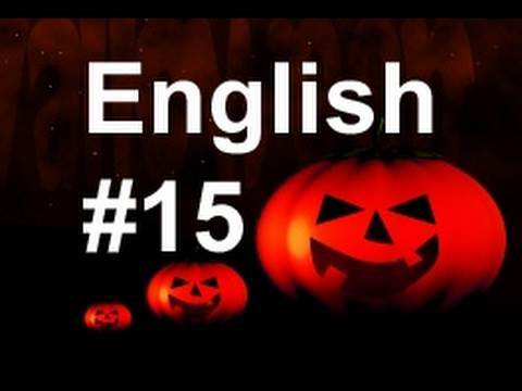 Learn Easy English Lesson #15 (American Accent) Halloween!