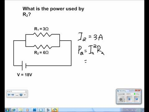 Electric Current and Circuits Presentation #35