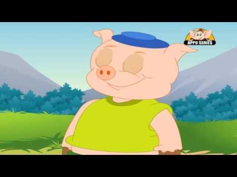 Nursery Rhyme - Piggy on the Railway
