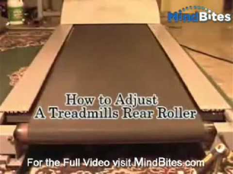 Need to Adjust the Rear Rollers on a Treadmill?
