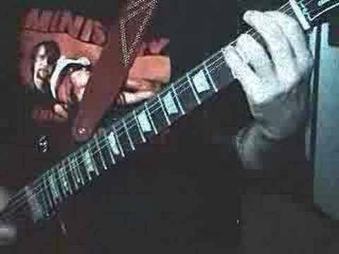 "Original Heavy Metal Guitar Solo: ""Infliction Injection"""