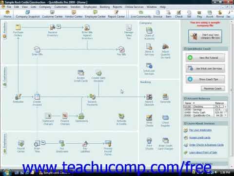 QuickBooks Tutorial Sales Tax Reports Intuit Training Lesson 14.1
