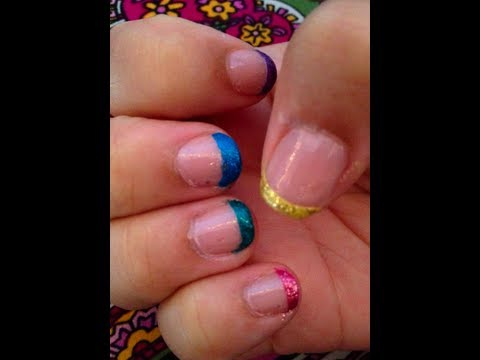 DIY: Colour Blocking French Tips!