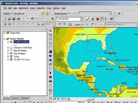 Examining Past, Present, and Potential Future Sea Levels with ArcGIS