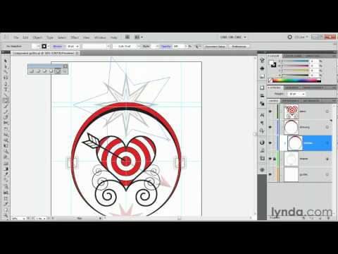 Illustrator tutorial: Drawing a multi-point star | lynda.com