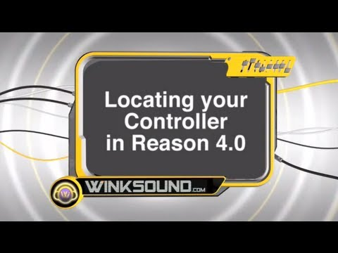 Propellerhead Reason: Locating your Controller | WinkSound