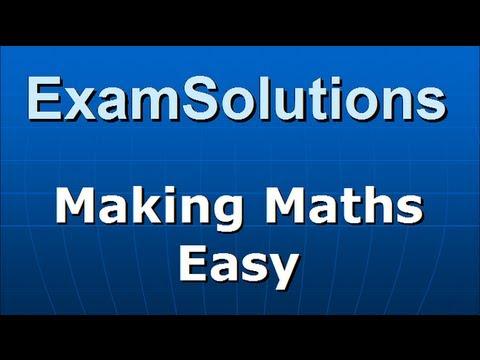 Trigonometry - Trig. Ratios for 45 degrees : ExamSolutions