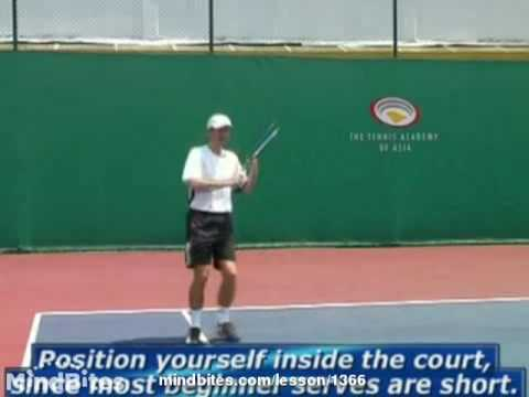 Tennis Return Lesson For Beginners