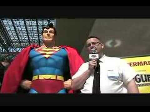 Geek Squad at New York Comic Con 2008 - Superman