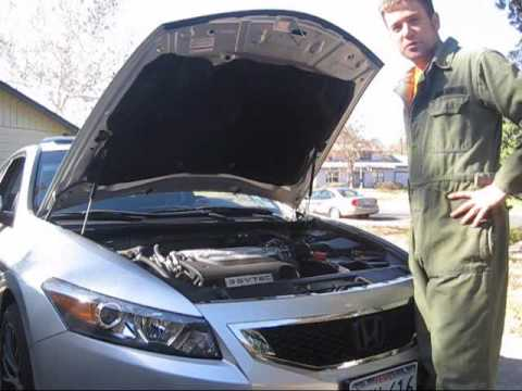 Oil change on 2009 Honda Accord V6