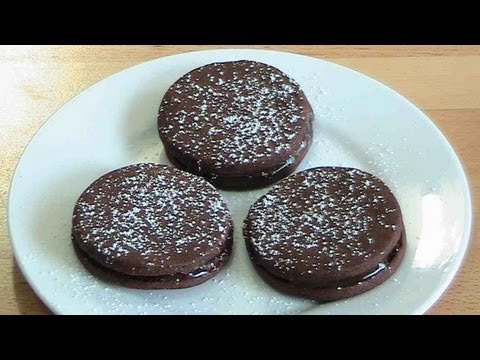 Chocolate Ganache Cookies - RECIPE