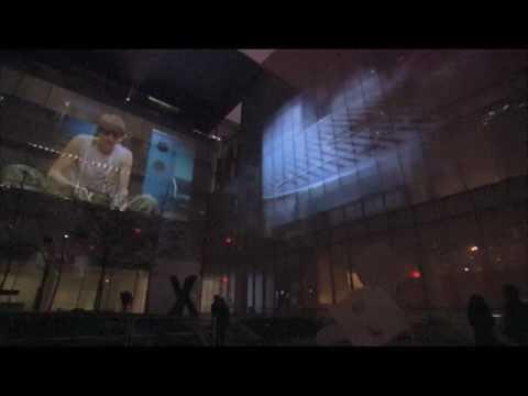 Doug Aitken: sleepwalkers, Documentation of the exhibition