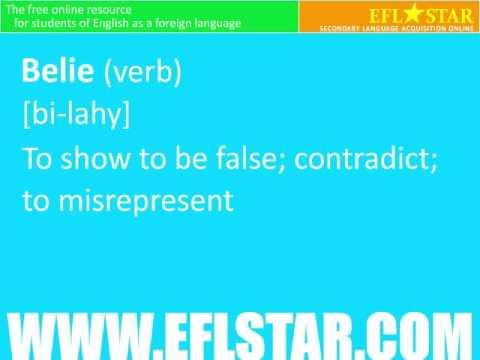 Advanced Vocabulary Lesson B Part 1