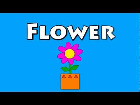 Vids4Kids.tv - Learn Shapes And Build A Flower