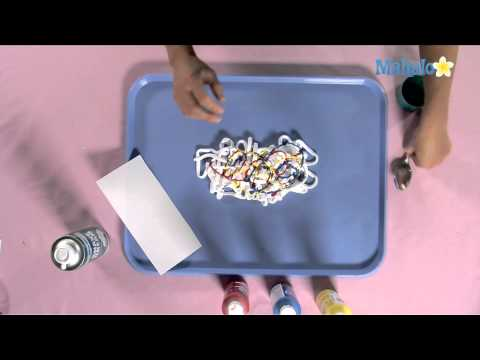 How to Make a Shaving Cream Marbling