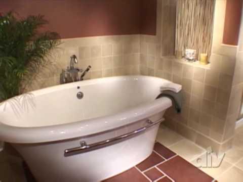 Blah Bath To Spa Retreat-DIY