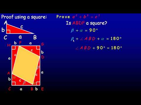 Proving the Pythagorean Theorem.avi