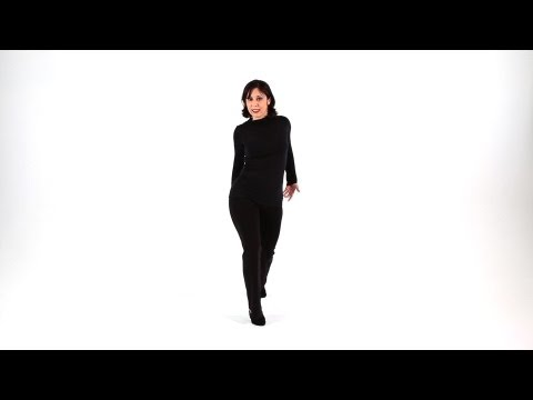 Beginner Jazz Dance Moves: Hip Walk