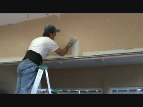 How to patch drywall....made easy
