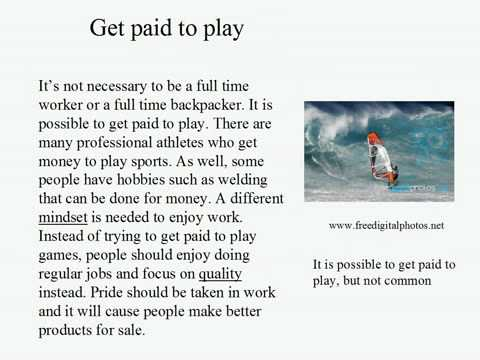 Live Intermediate English Lesson 31: Work or Play? 6: Psychedelic / Get Paid To Play