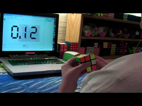 Rubik's Cube Average of 5: 17.79 Seconds