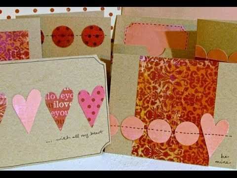 Six Simple Handmade Valentines