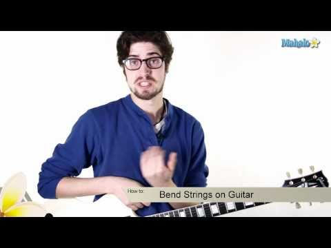 How to Bend Strings on Guitar