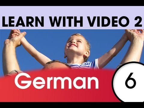 Learn German with Video - Top 20 German Verbs 4