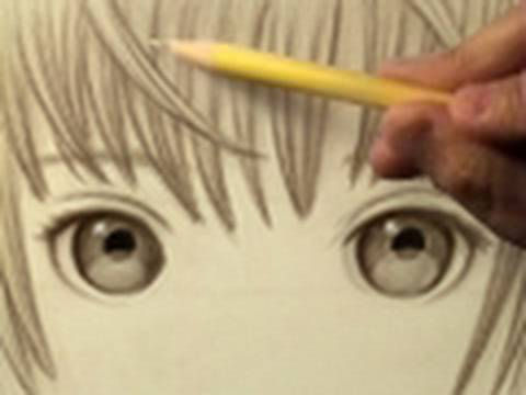 Pretty Eyes, Mellow Music (Time Lapse Drawing)