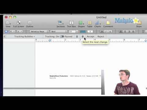 How to Accept and Reject Changes in Pages, iWork