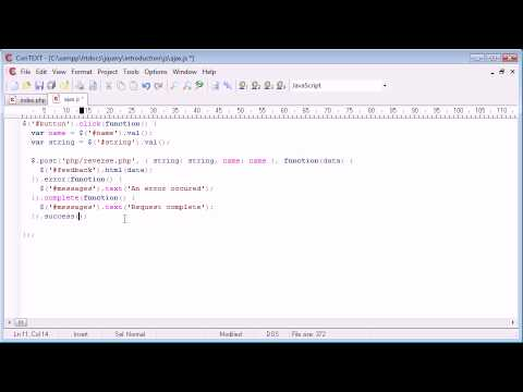 jQuery Tutorial - 100 - Other callback functions