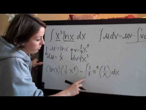 Integration by Parts Example 1