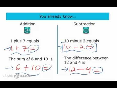 Solve addition and subtraction word problems by identifying key vocabulary (part 2) - 6.EE.7