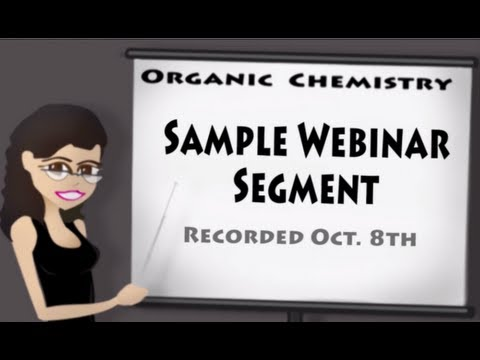 Organic Chemistry Review Replay Sample 8 October 2012