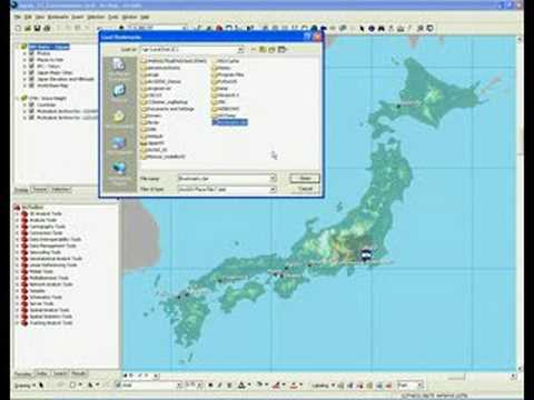 ArcGIS Desktop 9.3: Bookmark Manager