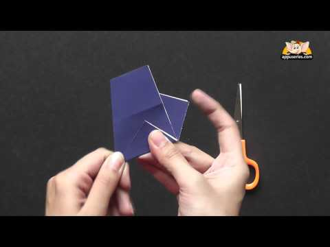Make a Kirigami 5 Point Star