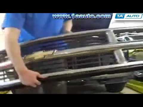How To Install Replace Grille 92-98 Chevy Silverado GMC Sierra Suburban Tahoe Yukon 1AAuto.com