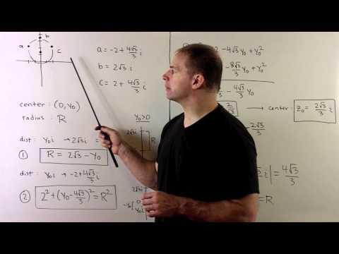 Locus of arg(z-2) = arg(z+2) + pi/3