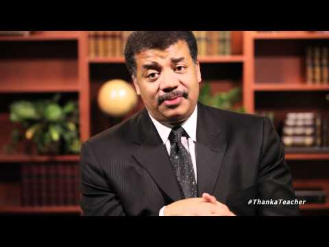 Neil deGrasse Tyson Thanks Teachers