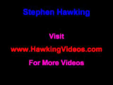 """Hawking Says: """"Space, Here I come."""" Funny"""
