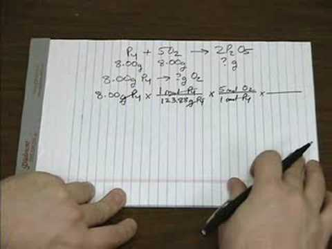 Limiting Reagents, Pt 1