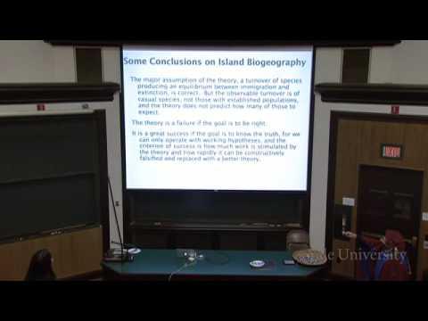 29. Island Biogeography and Invasive Species