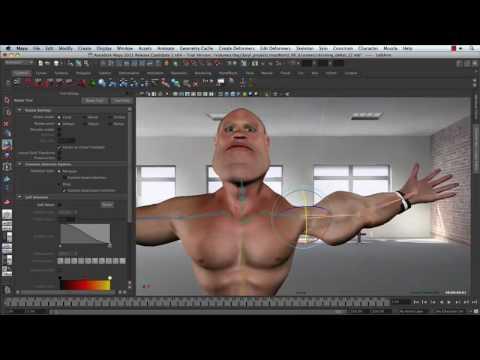 Enhanced Skinning Workflow — Maya 2011 New Features
