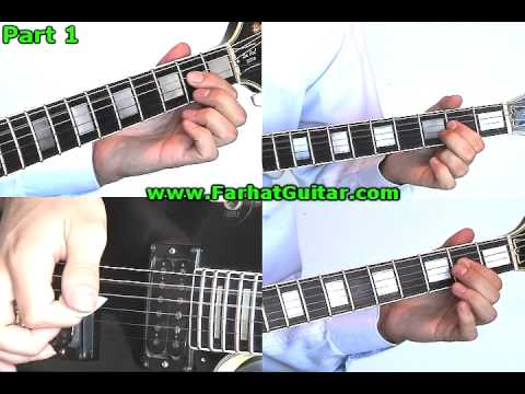 Black Dog Led Zeppelin Part 5   www.FarhatGuitar.com