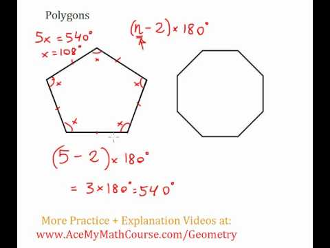 Polygons - Sum of Interior Angles