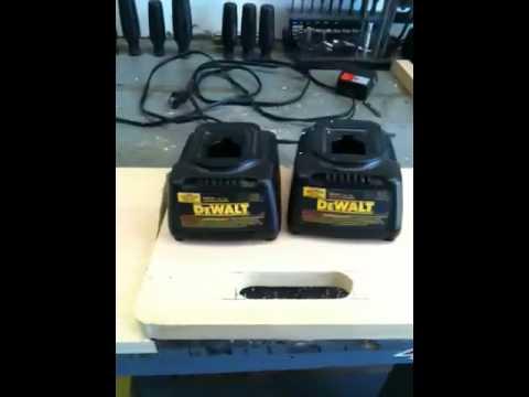 dewalt double battery charger