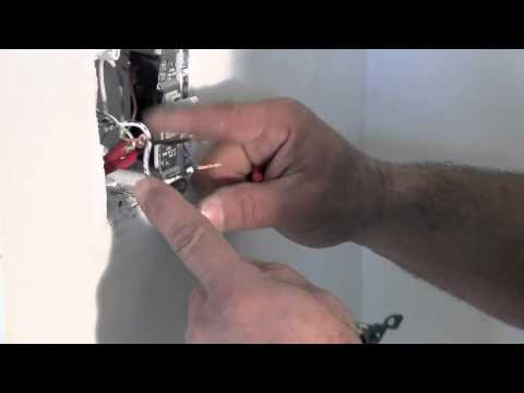 How to replace a light switch and about switch wiring